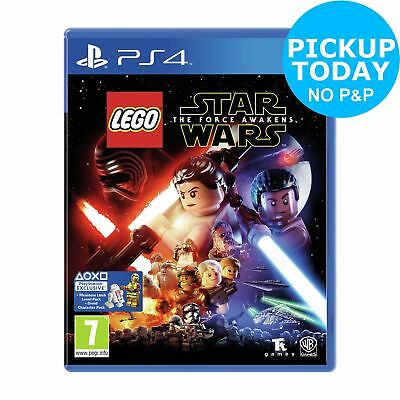 LEGO Star Wars: The Force Awakens Sony Playstation PS4 Game.
