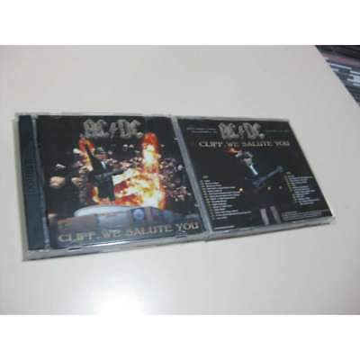 AC/DC  2 CD Cliff we salute you