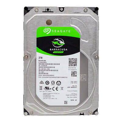 "3TB 7200 RPM 64 MB Cache SATA 6.0 GB/s 3.5"" Internal Hard Drive CCTV PC IMAC"