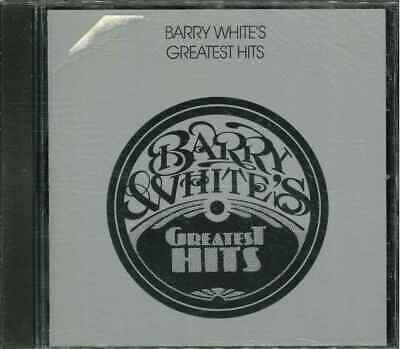 """●-● BARRY WHITE """"Barry White's Greatest Hits"""" CD-Album"""