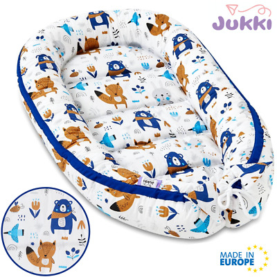 UK Baby Nest Newborn Reversible Cocoon Bed Sleep Newborn Cushion Sleepyhead