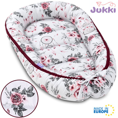 UK Baby Pod Nest Newborn Reversible Cocoon Bed Sleep Newborn Cushion Sleepyhead