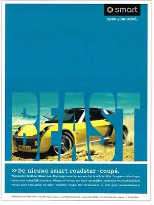 2003 Smart Roadster Coupe (NL, 1pg.) Advertisement