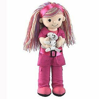 Researcher Doll with White Tiger 12 by Wild Life Artist
