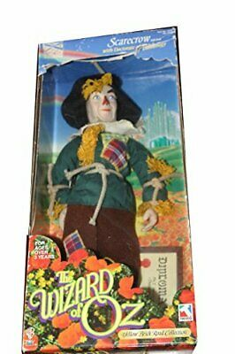 Scarecrow 15 soft doll by Trevco Yellow Brick Road Collection 1998