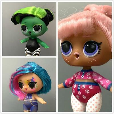 color change Lot 3X Lol surprise doll Series 5 Hairgoals BHADDIE SNOW BUNNY toys