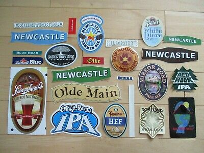 25 BEER STICKER PACK LOT decal craft beer brewing brewery tap handle Z