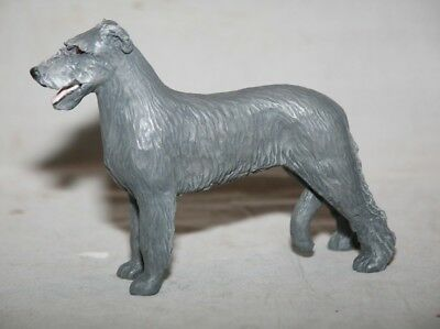 Porcelain Irish Wolfhound By Donna Chaney of Animal Artistry