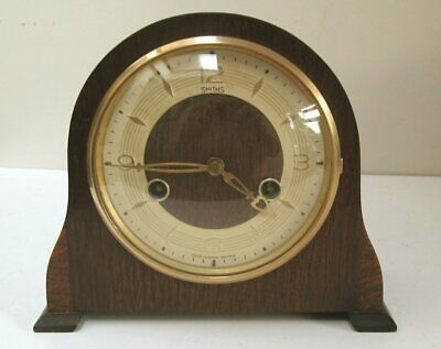 Vintage Smiths Art Deco Style Mantle Clock with a Perivale Movement c.50's