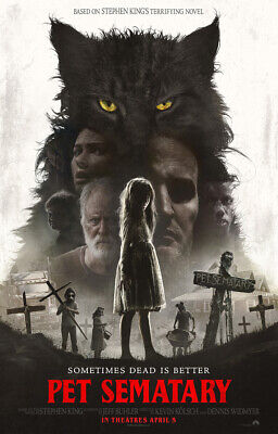 Pet Sematary (Dvd,2019 New Sealed) Don't Cross The Barrier- Free Fast Shipping.