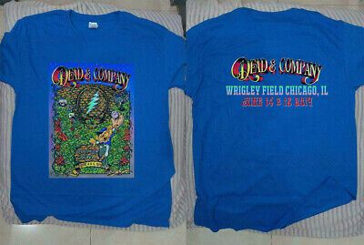 Dead And /& Company Tour 2019 T Shirt CHICAGO WRIGLEY FIELD Grateful Size S-5XL