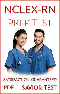 NCLEX-RN Practice Test 2019: 1400 Real Questions & Answers