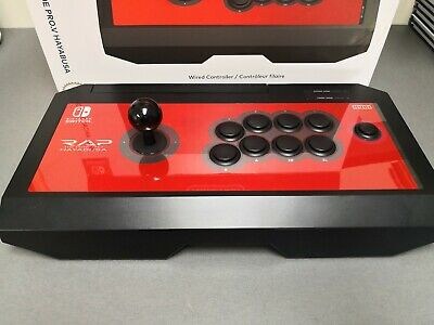 HORI NINTENDO SWITCH Real Arcade Pro V Hayabusa Fight Stick Officially  Licensed