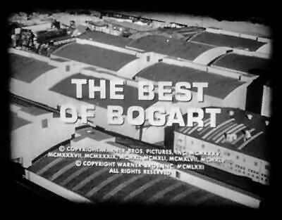 16mm THE BEST OF BOGART RARE 1971 WB TRIBUTE NARRATED BY EDWARD G ROBINSON