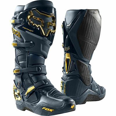 FOX Instinct Boots - Navy Gold - US14 = UK 12 as super fit