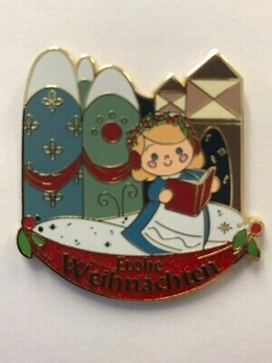 Disney Parks Disneyland 2017 It's a Small World Holiday Germany Mystery LR Pin