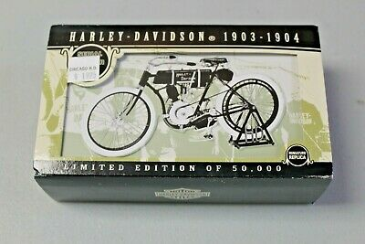 Limited Edition 1903-1904 Harley Davidson Serial Number One Collector's Tin