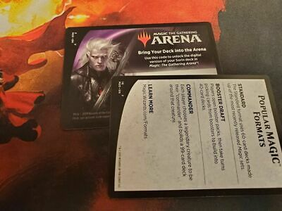 EMAIL ONLINE CODE ONLY MAGIC MTG ARENA Sorin Planeswalker Deck CORE SET 2020 M20
