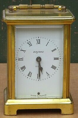 Quality Looking Brass Cased Bayard Duverdrey & Bloquel France Carriage Clock