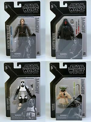 "4X SET Star Wars The Black Series 6"" Action Figures Archive Wave 2 - IN STOCK!"