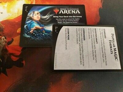 EMAIL CODE ONLY MAGIC MTG ARENA Mu Yanling Planeswalker Deck CORE SET 2020 M20