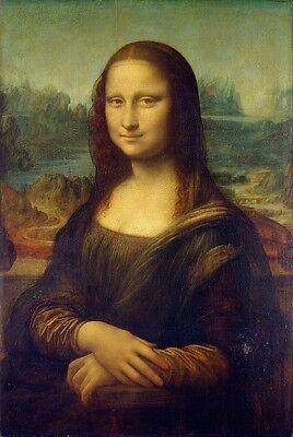 """perfact 24x36 famous oil painting handpainted on canvas """"Mona Lisa""""@NO2"""