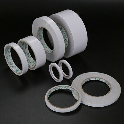 Double Sided Clear Sticky Tape Diy Strong Craft Adhesive 5Mm-20Mm