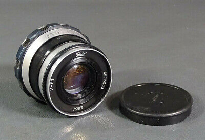 Vtg Soviet USSR Russian Industar-61 f2.8/52mm FED Leica Zorki M39 RF Camera Lens