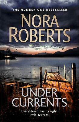 Under Currents by Nora Roberts Paperback Book Free Shipping!