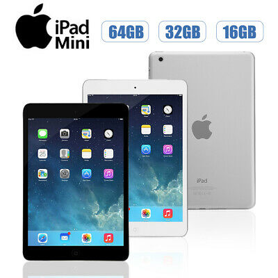 Apple-iPad-Mini-1st-Gen-16-32-64GB-Wi-Fi-or-Cellular-Unlocked-7-9-Black-White