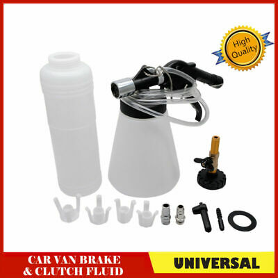 Vacuum Brake and Clutch Bleeder Kit 90-120 PSI Air Pressure Fluid Bleed Tool AU