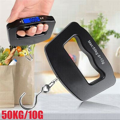 50KG Electronic Digital Luggage Scale Handheld Suitcase Weighing Travel Portable