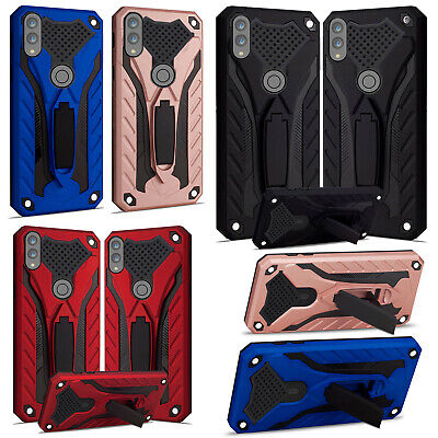 Samsung Galaxy A40 A50 A70 A10 A20e Armour Heavy Duty Rugged Stand Case Cover