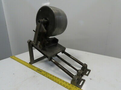 """Aluminum 10""""x 6"""" Crowned Tail Belt Pulley Tensioner Assembly"""