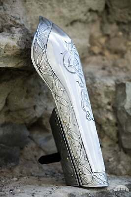 New  Medieval Men's Bracer with Etching; Vambraces; Bazubands
