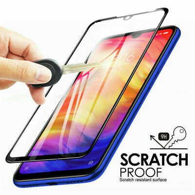For Xiaomi Redmi Note 7 3D Curved Full Cover Tempered Glass Screen Protector B