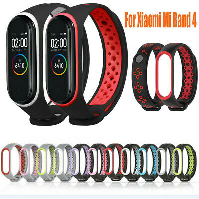 For Xiaomi Mi Band 4 Replacement Sport Silicone Strap Wristband Bracelet Hot!
