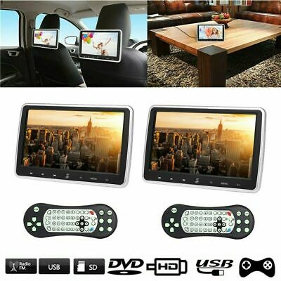 JD-1018D 10.1 Inches Car Headrest DVD Player Auto Monitor Touc Button K2N4