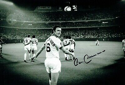 Franz BECKENBAUER SIGNED Autograph World Cup 12x8 West Germany Photo 2 AFTAL COA