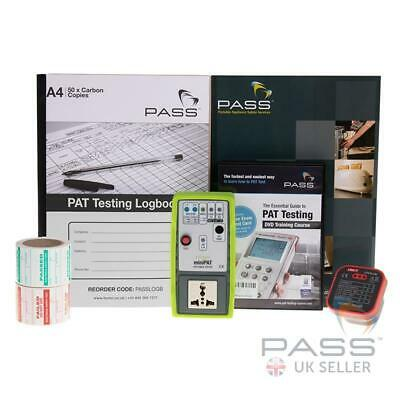NEW Exclusive MiniPAT Appliance PAT Checker Kit Including DVD with Exam + More
