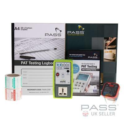 NEW Exclusive MiniPAT Appliance PAT Checker Kit c/w DVD + Exam, Calibration Cert