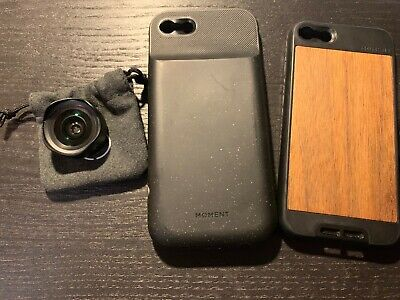 Moment - Wide 18mm Lens and cases for iPhone 7