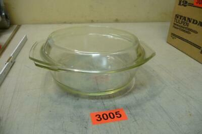 3005. gebr. Glas Gratin Form Auflaufform Backform Glasform