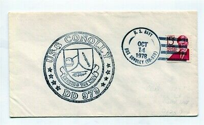 US Naval Ship Cover - USS CONOLLY DD979 - 1978