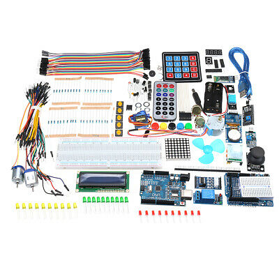 Ultimate UNO R3 Starter Kit With OLED SPI bluetooth LCD1602 RTC DHT11 For Arduin