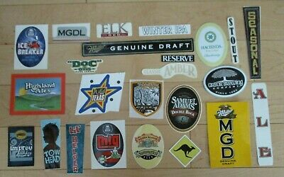 25 BEER STICKER PACK LOT decal craft beer brewing brewery tap handle 1