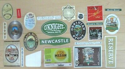 25 BEER STICKER PACK LOT decal craft beer brewing brewery tap handle 18