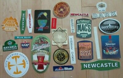 25 BEER STICKER PACK LOT decal craft beer brewing brewery tap handle 22