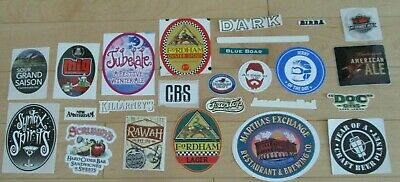 25 BEER STICKER PACK LOT decal craft beer brewing brewery tap handle 28