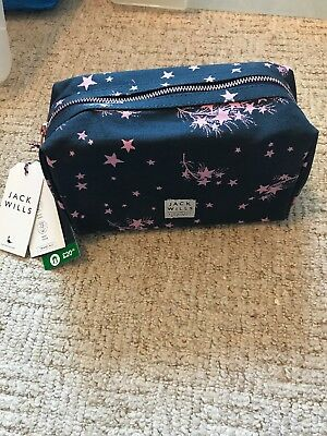 NEW Jack Wills Ladies Travel Kit Wash Bag And Toiletries Gift Set BNWT Christmas